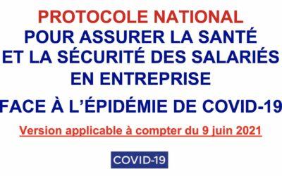 Covid-19 : nouveau protocole national